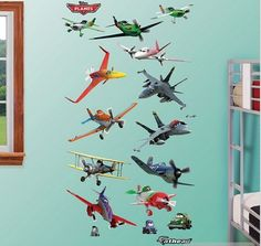 High Quality Disney Planes Wall Decals