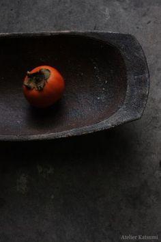 atelier Katsumi | black | red | tomato | dish | texture | composition