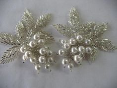 sew on BEADED   APPLIQUE by Toide on Etsy, $10.00