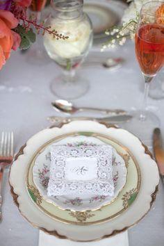 Plate - VIntage Crockery Rental & Rescue