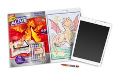 Amazon.com: Crayola Color Alive Action Coloring Pages - Combo Set - Skylanders and Mythical Creatures: Toys & Games