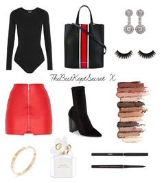 """• AUTUMN LUXE 2"" by thebestkeptsecret on Polyvore featuring Tony Bianco, Wolford, Givenchy, Cartier, Tiffany & Co., Yves Saint Laurent, tarte and Marc Jacobs"