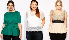 Shapely Chic Sheri - Plus Size Alternatives to Holiday Dresses #plussizetops