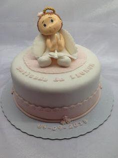 FLOWER CAKE DESIGNER: Bolo de Batizado