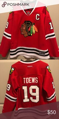 0e9c11d3ced Chicago Blackhawks Jersey - Women's - #19 Toews Women's XL (women's line of  jerseys