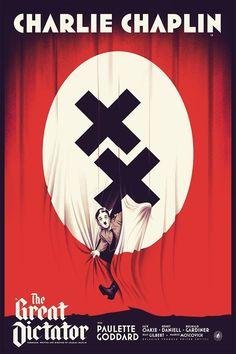 Les Posters des Films Cultes de Charlie Chaplin par Nautilus Art Print – Geek Art – Art, Design, Illustration & Pop Culture !