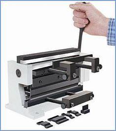 Combination Shear and Bending Brake for Precision Sheet Metal