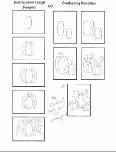 Grande Park Art: How to Draw a Pumpkin