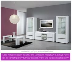 White High Gloss Dining Furniture And Sets