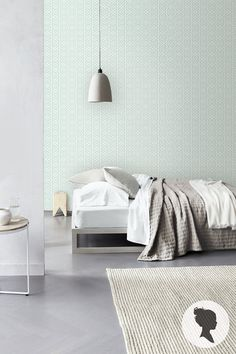 Geometric Pattern Peel and Stick Wallpaper D030 by Livettes