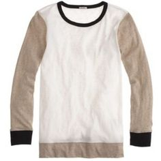 """Spotted while shopping on Poshmark: """"HP x2 J. Crew Painter Tee - Colorblock""""! #poshmark #fashion #shopping #style #J. Crew #Tops"""