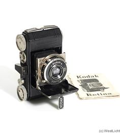 When I was 12 years old, I bought a 1935 Kodak Retina at my next door neighbors garage sale, for $10.00.  One like it, sits in the Harry Ransom History Center at UT.  I took it with me to UT and used it in my photography classes and I still have it.  I have no idea what it's worth.  It's one of the first 35mm ever made.