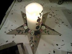 Beautiful Star Centerpiece from Joyful Creations by Joyce Houck