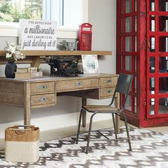 Morissette Dining Table Urban Barn Home Office Pinterest And Modern Traditional