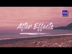 Write on Text Reveal Effect in Adobe After Effects - Tutorial - YouTube