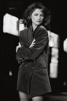Charlotte Rampling - 1982 by Peter Lindbergh
