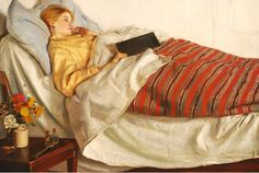 Michael Ancher iunie 1849 – 19 septembrie pictor impresionist danez(I) Prince Christian Of Denmark, Google Art Project, White Caps, Woman Reading, Summer Landscape, Pictures Of People, Two Girls, Bedtime Stories, Flower Paintings