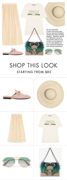 """""""Heat Wave with Gucci"""" by lesnoyelv on Polyvore featuring мода, Gucci и heatwave"""
