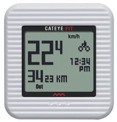 CatEye Fit Wireless Bicycle ComputerWalk Pedometer CCPD100W White * Click image for more details.