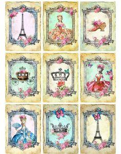 Sheet alles Marie | ~Marie Antoinette | Nostalgie & Brocante