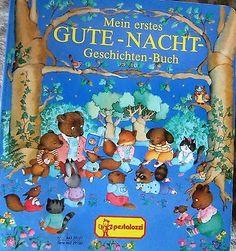 Mein erstes GUTE - NACHT - Geschichten Buch  Kindergartenalter