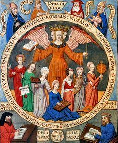 """""""Жемчужина Философии"""",трактат Г.Рейша 1505г."""