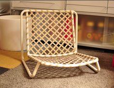 Vintage Brown Jordan Mid Century Modern Patio Low Lounge, Dining, Sand Chair