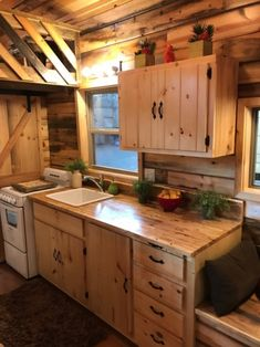 This is the Coyote Cabin Tiny House by Incredible Tiny Homes. Coyote Cabin by Incredible Tiny Home is 18′trailer + 8′ gooseneck= 26′ x 8′ gooseneck and has a base price of $44,950.