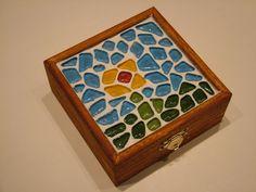 Kavics mozaikos doboz - Pebble mosaic box | Praktikák.hu