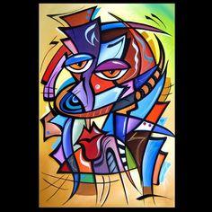Cubist 117 2436 Original Cubist Art Yes Indeed