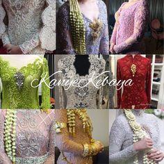 Kebaya Simple, Crochet Necklace, Traditional, Dress, Jewelry, Fashion, Moda, Dresses, Jewlery