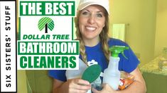 How to Clean Your Bathroom With Dollar Tree Cleaning Supplies! Clean With Me! Diet Exercise Healthy Life Video - Reality Worlds Tactical Gear Dark Art Relationship Goals Bathtub Cleaning Tips, Cleaning Bathroom Tiles, Clean Bathtub, Bathroom Cleaners, Natural Bathroom, Simple Bathroom, Daily Shower Cleaner, Shower Grout, Clean My Space