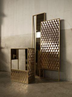 Gualtiero Sacchi Design Realized: Ligabue (iron), Bosa Ceramiche (ceramics)