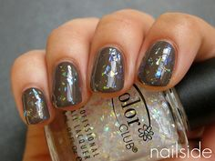 Nailside: OPI You Don't Know Jacques + Color Club Covered In...