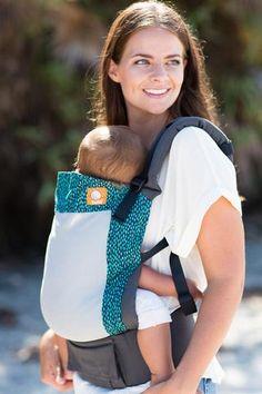 0dae9128694 Breathable mesh baby carrier. Coast  Aqua Rain  has a modern