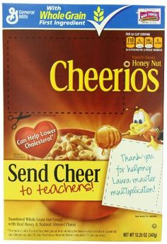 Honey Nut Cheerios Cereal, 12.25 Ounc... (bestseller)
