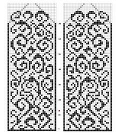 Самые необычные схемы для вязания варежек спицами | Блог elisheva.ru