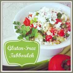 Love tabbouleh but don't love gluten? This yummy, gluten-free version ...