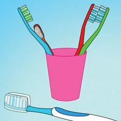 ¿Sabías que la vida útil promedio de un cepillo dental es de 3 a 4 meses?   Si aún conservas tu mismo cepillo dental después de ese periodo es muy probable que en vez de tener tus dientes limpios sanos los estés enfermando por todas las bacterias que poco a poco va acumulando.  ¡Así es que toma nota y renueva tu cepillo! :)