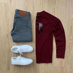 visit our website for the latest men's fashion trends products and tips . Outfits Casual, Stylish Mens Outfits, Casual Wear, Men Casual, Casual Chic, Stylish Clothes, Look Man, Retro Mode, Mode Vintage
