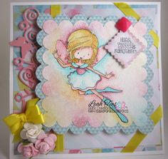 Greetings Fairy by Tiddly Inks, December 1, 2014, DT project for Quick Creations, Created by Leah Tees, odetopaper.blogspot.ca,