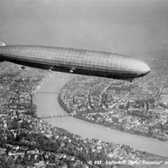 Luftschiff Graff Zeppelin - Just before the war Germany used the Zeppelin to Spy on the British