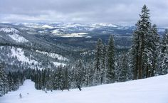Northstar at Lake Tahoe, one of the best places to snowboard.