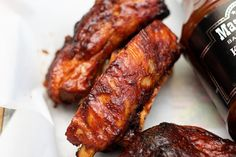 How to make Perfect BBQ Ribs on a Charcoal Grill Recipe - Bbq İdeas Pork Rib Recipes, Grilled Steak Recipes, Grilled Meat, Grilling Recipes, Cooking Recipes, Grilling Tips, Cooking Kale, Bbq Ribs, Grilled Ribs Charcoal