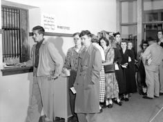 New Student Registration 1951