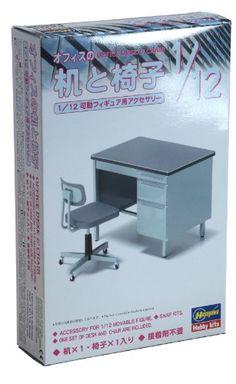 1/12 オフィスの机と椅子 ハセガワ http://www.amazon.co.jp/dp/B007VXIK7Y/ref=cm_sw_r_pi_dp_aZkqub15P3XZ3