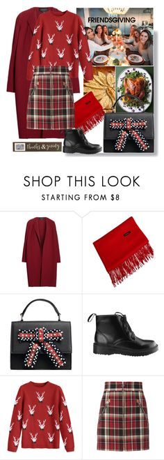 """""""Thanksgiving day"""" by fashionista13245 ❤ liked on Polyvore featuring Lafayette 148 New York, Sweet Note, rag & bone and Mud Pie"""