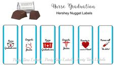 30 Luau Hawaiian Birthday Party Favors Personalized Nugget Labels