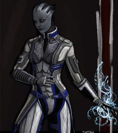 Liara T'Soni by TuftTail.deviantart.com on @deviantART