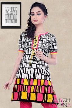 Amazing Cotton Short Kurti #cottonkurtiscollections #designerprintedkurtis #girlsshortkurtis #shortkurtis #